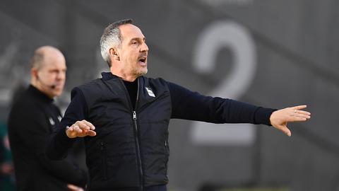 Adi Hütter gegen Bayern