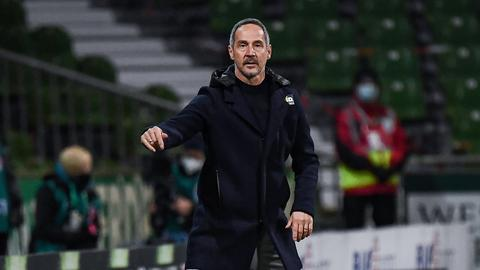 Adi Hütter gegen Werder Bremen