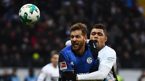 Eintracht vergibt Sieg gegen Schalke