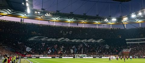 Das Stadion von Eintracht Frankfurt