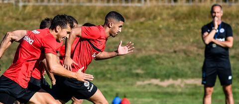 Barkok im Training von Eintracht Frankfurt