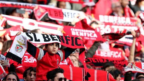 Fans von Benfica Lissabon