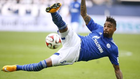 Kevin-Prince Boateng im Trikot von Schalke 04