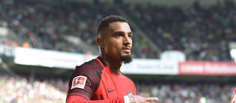 Kevin-Prince Boateng von Eintracht Frankfurt