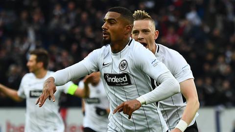 Kevin-Prince Boateng bejubelt sein Treffer in Hoffenheim