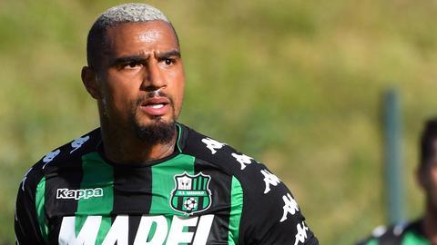 Kevin-Prince Boateng im Trikot von Sassuolo Calcio