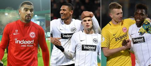 Collage: Boateng, Gacinovic und da Costa