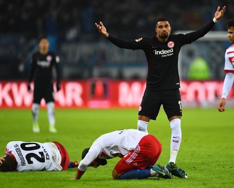Kevin-Prince Boateng gegen den Hamburger SV