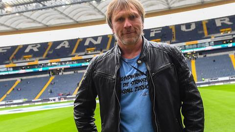 Ansgar Brinkmann im Frankfurter Stadion