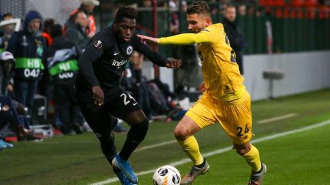 Danny da Costa von Eintracht Frankfurt