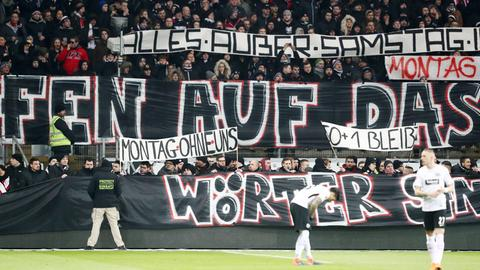 Imago Eintracht Protest