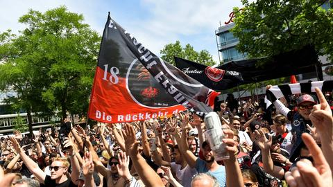 Imago Eintracht Fans