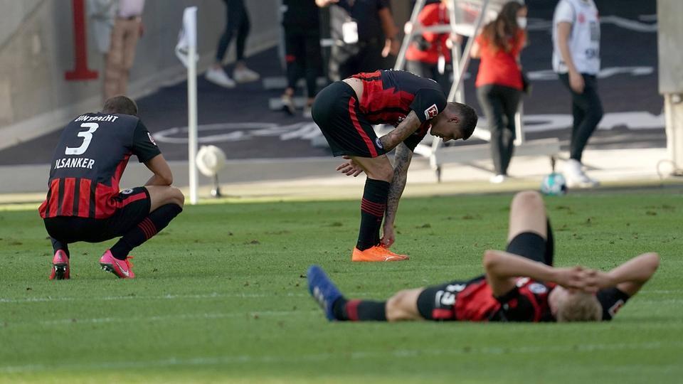 Frust bei Eintracht Frankfurt nach Remis gegen Bielefeld