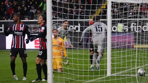 Imago Eintracht Frust Hertha