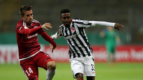 Tawatha beim Pokalspiel gegen Ingolstadt