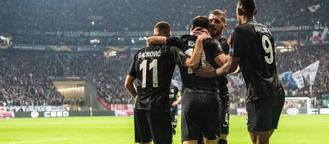 Frankfurter Jubel in der Europa League