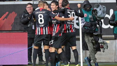 Imago Eintracht Jubel Hertha