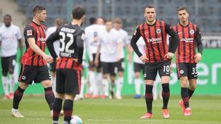 Kostic Silva und Jovic von Eintracht Frankfurt