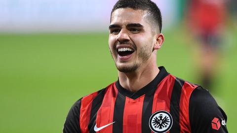Andre Silva von Eintracht Frankfurt
