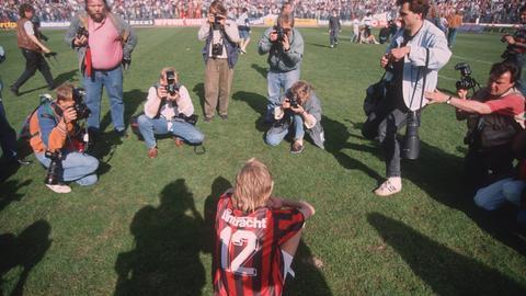 Lothar Sippel nach dem verpassten Titel 1992