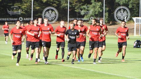 Training bei Eintracht Frankfurt