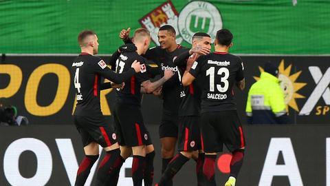 Eintracht Wolfsburg Jubel
