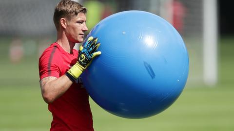 Jan Zimmermann von Eintracht Frankfurt