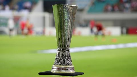 Die Europa-League-Trophäe