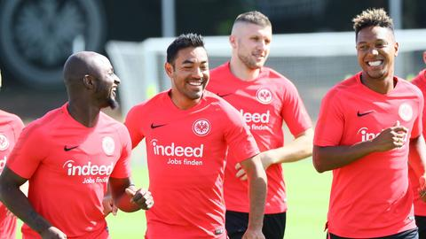 Marco Fabian im Training der Eintracht