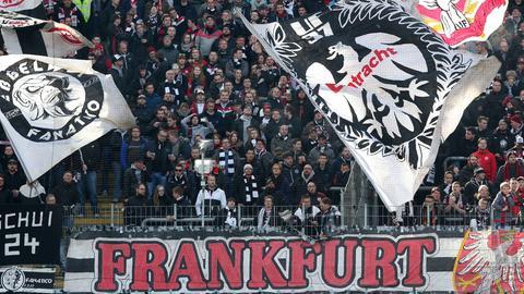Imago Fans Eintracht Frankfurt