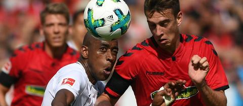 Gelson Fernandes beim Spiel in Freiburg