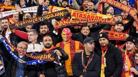 Fans von Galatasaray Istanbul