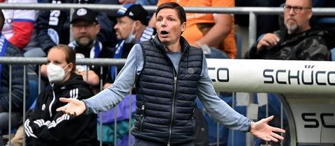 Oliver Glasner von Eintracht Frankfurt
