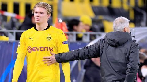 Erling Haaland von Borussia Dortmund
