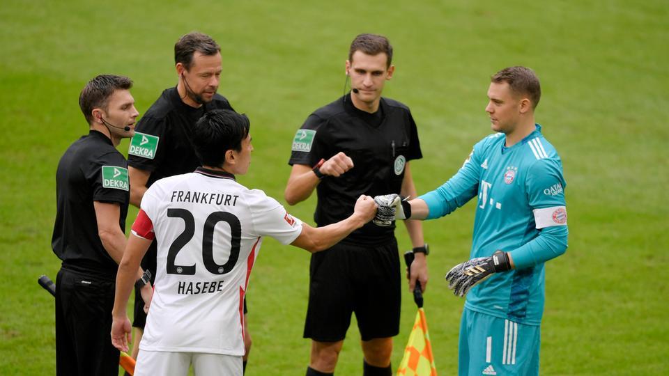 Eintracht Frankfurt lässt vor Duell mit dem FC Bayern die Muskeln spielen - hessenschau.de