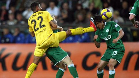 Boateng trifft Hasebe