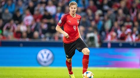Martin Hinteregger im Einsatz für das ÖFB-Team