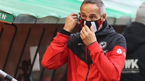 Trainer Adi Hütter von Eintracht Frankfurt
