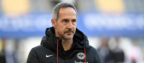 Eintracht-Trainer Adi Hütter