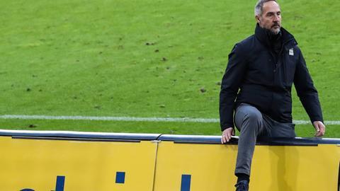 Adi Hütter von Eintracht Frankfurt