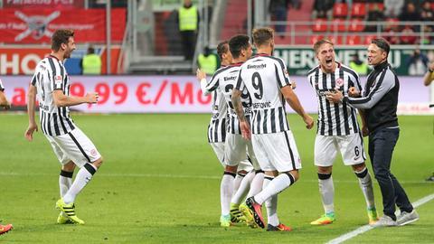 Imago Eintracht Jubel