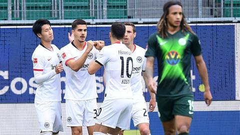 Eintracht Jubel Kamada