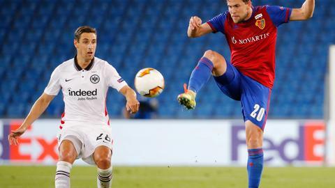 Dominik Kohr von Eintracht Frankfurt gegen Basel