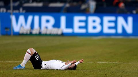 Frust bei Kostic von Eintracht Frankfurt