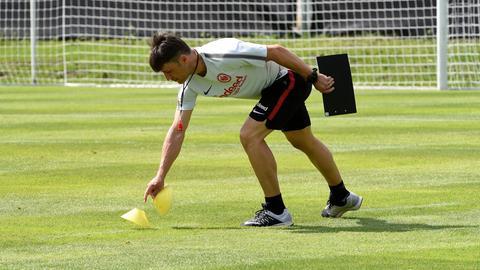 Kovac auf dem Trainingsplatz