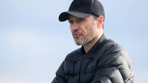 Niko Kovac im Trainingslager der Eintracht