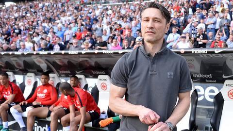 Niko Kovac im Frankfurter Stadion