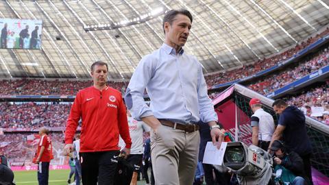 Niko Kovac als Frankfurt-Trainer beim FC Bayern