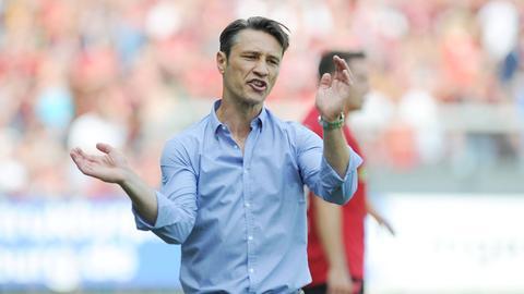 Eintracht-Trainer Kovac hadert mit der Chancenverwertung