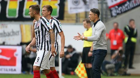 Imago Eintracht Kovac Seitenlinie